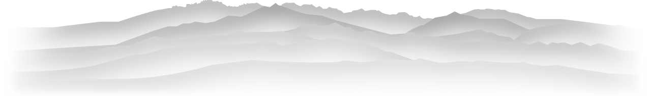 立山連峰の稜線
