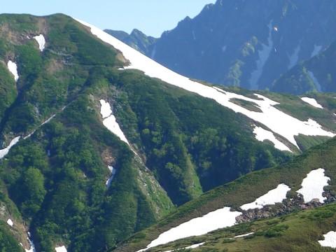 奥大日の稜線 2