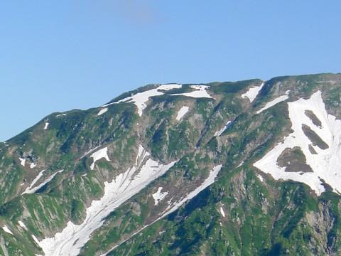 奥大日の稜線 3
